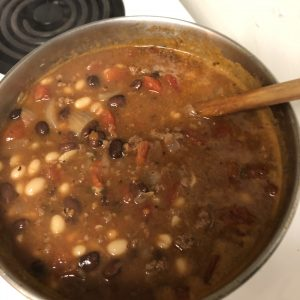 Cooking Cowboy Chili – April 16, 2021 This is my Quick Cowboy Chili Recipe and Corn Bread recipes you can find the recipes here https://theroguestavern.com/recipes/ This is a simple quick dinner you can have ready in about an hour.
